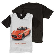 Car image for Men's-All-Over-Printed-Panel-T-Shirt All-Over-Print T-Shirt - tap, personalize, buy right now! Jaguar F Type, Stylish Shirts, Man Images, Long Shorts, Graphic Tees, Men's Shirts, Mens Tops, How To Wear, T Shirt