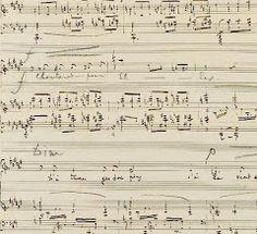 Debussy\'s manuscript for 1er Cahier de Proses Lyriques ( De rêve ...