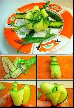 Красиво украшаем салаты