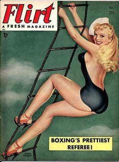 Flirt magazine, February 1951.
