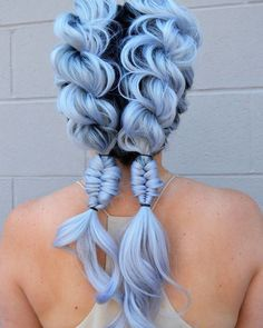 How to care for pastel hair tips for pastel pink hair fresh. Hair coloring inspirational using outstanding heres every hair color kylie jenner has ever worn her campus. Spectacular pastel blue hair color inspirations for hair coloring. Dye My Hair, New Hair, Braided Hairstyles, Cool Hairstyles, Hairstyle Ideas, Trending Hairstyles, Mermaid Hairstyles, Latest Hairstyles, Updo Hairstyle