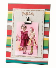 Look at this 'Grateful for' Clip Frame on #zulily today!