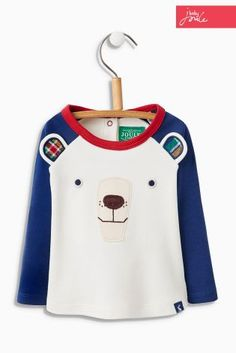 Buy Baby Joule Polar Bear Long Sleeve T-Shirt (0mths-3yrs) from the Next UK online shop