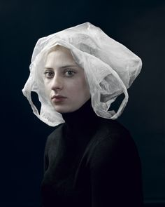 Dutch photographer Hendrik Kerstens creates stunning portraits using everyday objects. The photographer seeks to create a link between the art of painting and the art of photography...