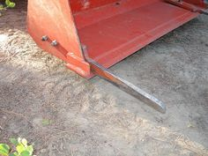 Small Forest Timber Owner Blog for WA: Logging forks for a front loader tractor
