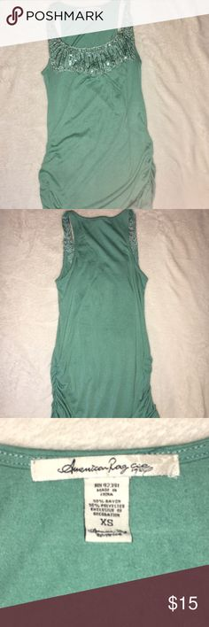 Dress tank! Fits like a Small. Very stretchy and comfortable! American Age Tops Tank Tops