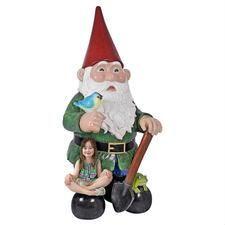 Fantasy Figures & Statues: Fairies, Gnomes, Bigfoot - Design Toscano Garden Gnomes For Sale, Yard Gnomes, Gnome Garden, Gnome Statues, Garden Statues, Water Spout, Elf Ears, Animal Statues, Garden Fountains