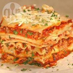 Foto de la receta: La mejor lasagna  sera? pss abra que intentarla XD