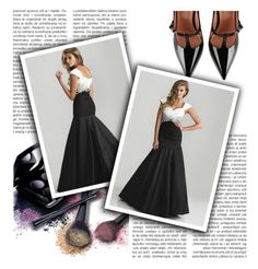 Abendkleid, sexy und morden. by johnnymuller on Polyvore featuring RED Valentino and Avon