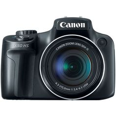 The Canon PowerShot HS is a super-zoom camera with a yes that's right, optical zoom. Launched in September 2012 the PowerShot HS is the World's first camera with Best Digital Camera, Digital Slr, Digital Cameras, Canon Digital, Uk Digital, Secure Digital, Canon Eos, Super Zoom, Cameras Nikon