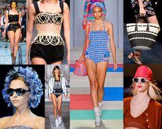 """Un Baño de #TENDENCIAS en #BAÑADORES y #BIKINIS Verano 2013 http://www.glam.com.es/2013/04/01/un-bano-de-tendencias-en-banadores-y-bikinis-verano-2013/ La moda baño al igual que el Prêt-à-Porter se rinde a las tendencias de la nueva temporada y se cubre de brocados detalles, inspiración lencera, rayas tricolor, """"check prints"""", asimetrías, estratégicos cortes, """"tweed"""", transparencias, siluetas de aires retro, y colores vitaminados, para el deseado momento """"splash"""" #fashion #swimwear #trends…"""