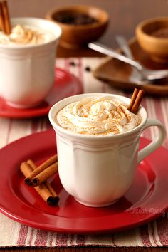 Coffee meets hot chocolate in this Mexican Spiced Mocha drink recipe. The cinnamon and chili powder give it a nice kick to help wake you up when you need it the most