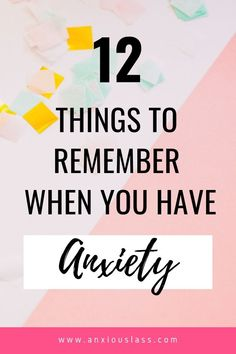 Do you feel totally lost after a diagnosis of anxiety or social anxiety? Here's 12 things to remember when you have anxiety. Types Of Anxiety, Anxiety Tips, Anxiety Help, Social Anxiety, Overcoming Anxiety, Generalized Anxiety Disorder, Stress Disorders, Mental Health Matters, Mental Health Awareness