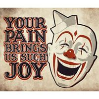 Creepy Carnival Halloween Decorations - Tableware, Decorations & More - Party Ci. Creepy Carnival Halloween Decorations – Tableware, Decorations & More – Party City Clown Party, Halloween Clown, Freakshow Halloween, Gruseliger Clown, Halloween Karneval, Halloween Signs, Halloween Themes, Halloween Decorations, Halloween Party