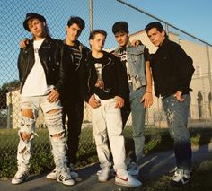 Boy bands have been around for more than 60 years. From Backstreet Boys to One Direction, discover 30 of the biggest boy bands of all time. 25 Years Ago Today, Jonathan Knight, Danny Wood, Joey Mcintyre, Michael J Fox, Donnie Wahlberg, Jordans Girls, Jordan Knight, The Right Stuff