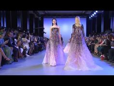 ELIE SAAB Haute Couture Spring Summer 2014 Fashion Show - YouTube