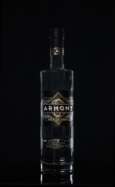 Armont Vodka on Packaging of the World - Creative Package Design Gallery