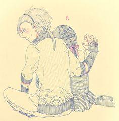 Takeru and Yui so cute ^////^ Kamigami no Asobi