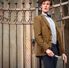 The Doctor's pose. <3 11