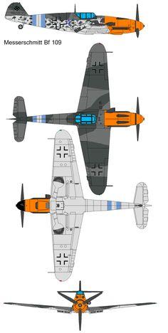 Messerschmitt Bf 109f by bagera3005 on DeviantArt