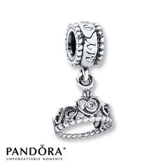 Pandora Dangle Charm My Princess  Sterling Silver - love the writing on the top