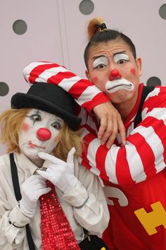 A Brace of Clowns. Photo by Stephen D McNally -- National Geographic Your Shot