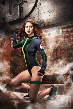 Gen-13's Caitlin Fairchild (Xandra Rocha) Cosplay