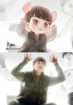 Exo Xiumin, Kim Minseok Exo, Kpop Exo, Chibi Exo, Exo Fanart, Exo Cartoon, Exo Anime, 5 Years With Exo, Kpop Drawings