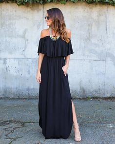 Infinite Pocketed Strapless Maxi Dress