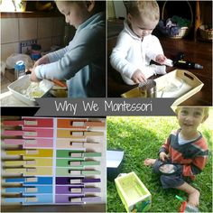 Why we Montessori - why we practice Montessori principles and parenting at home. Montessori, for me, has a lot to do with the unmeasurable, the intangible and invaluable. The life-long love of learning and discovery, the self awareness, the self-confidence, the ability to contribute, be heard, question and challenge things and make mistakes. It's about working with (not against) the individual child and keeping their childhood.