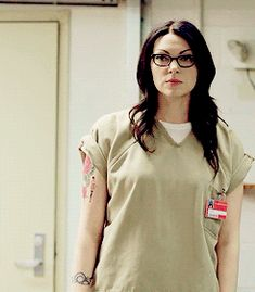 photoset gif 1x07 Laura Prepon okay Orange is the new Black Alex Vause