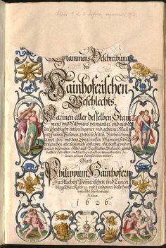 Stammbuch des Philipp Hainhofer, 1626 - Staats- und Stadtbibliothek Augsburg