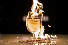 Drinks you can light on fire