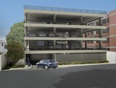 Parking building T13. MAT-Latinamerica