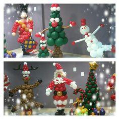 decoraciones con globos escaparates navidad - Google Search