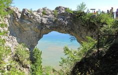 Arch Rock, Mackinac island. such an awesome little island