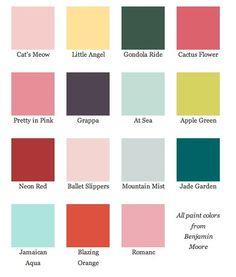 1930's colors