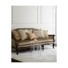 massoud jaquette sofa liked on polyvore featuring home furniture sofas