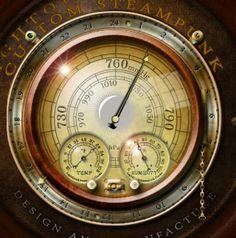 Steampunk Weather Icon & Widget MkII