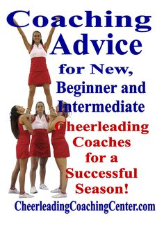 cheerleading stunting Would you LOVE some Advice for Experienced Cheerleading Coaches to help make your season easier and FUN! Check out all of the great tips and tools on Cheer Camp, Football Cheer, Cheer Coaches, Cheerleading Tryouts, Cheer Stunts, Cheerleading For Kids, Cheer Dance Routines, Thing 1, Advice