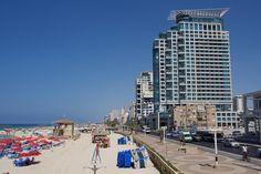 Coast of Tel Aviv, Israel