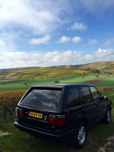 Just like my old Range Rover - looking East towards Althorp from Badby Woods