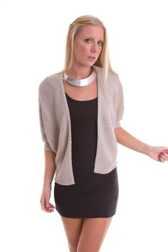A Silver Sparkle cardigan available now! $50