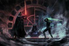 Darth Vader / Luke Skywalker / Emperor