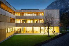 Nenzing Nursing Home / Dietger Wissounig Architects © Albrecht Imanuel Schnabel