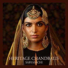 The classic sabyasachi sangeet jewelry. Made in 22k gold with uncut diamonds, emeralds, rubies and Japanese cultured pearls. For all jewellery related queries, kindly contact sabyasachijewelry@sabyasachi.com #Sabyasachi #SabyasachiJewelry #TheWorldOfSabyasachi