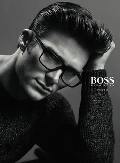Scott Eastwood for Boss by Hugo Boss Fall/Winter 2014 Eyewear Campaign
