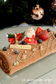 ブッシュドノエル @ Le surce cake salon (Japan) ♥