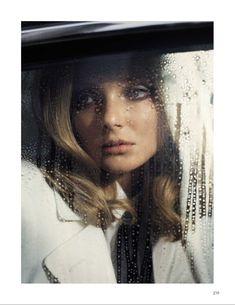 Eniko Mihalik Exudes Pure Elegance for Vogue Spain's September Issue