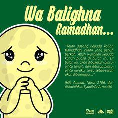 Wa Balighna Ramadhan...